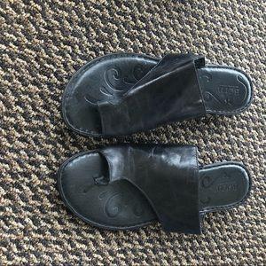 New Born Sandals Black 10
